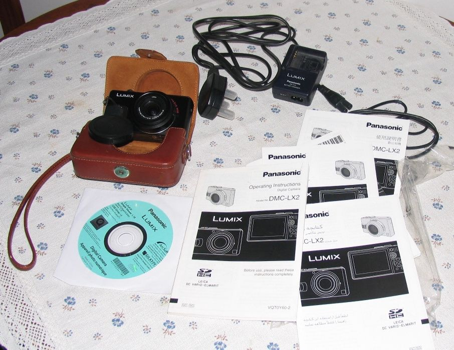ЗАМЯНА!!! Фотоапарат висок клас Panasonic Lumix DMC-LX2