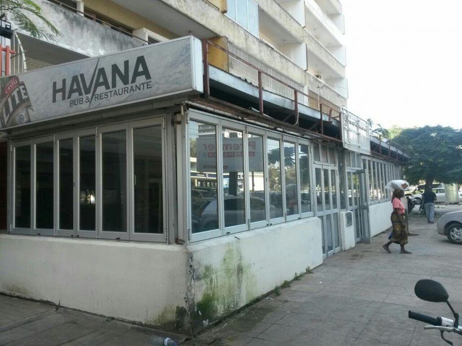 Arrenda-se restaurante,discoteca, HAVANA BAR 500m2 na Sommerschield