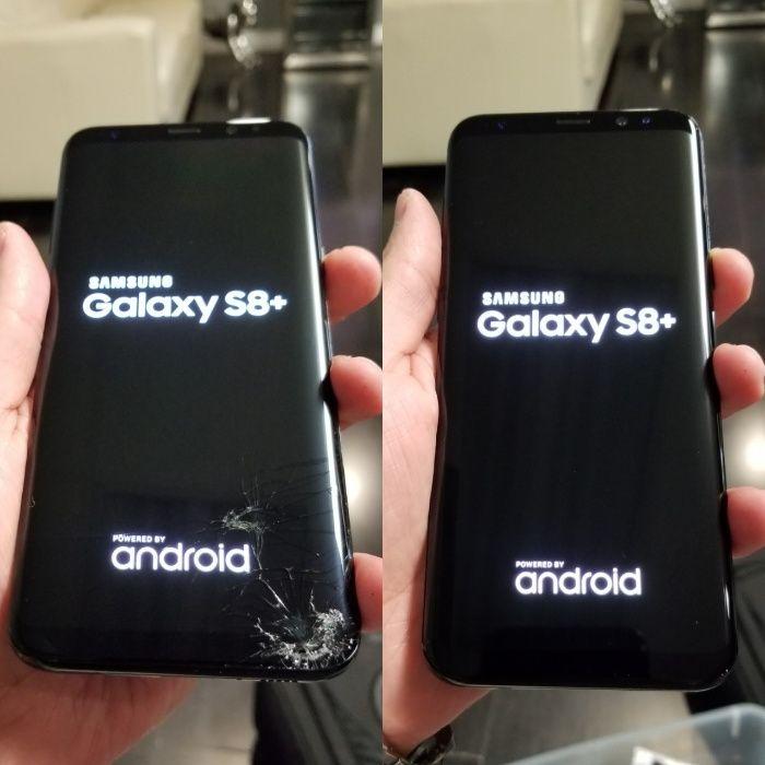 Schimbare Geam Sticla Samsung S7 edge / S8 / S8 plus / S9 / Note 8