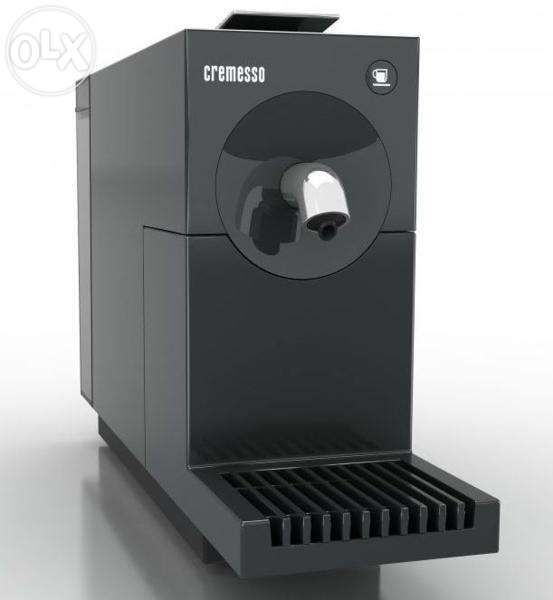 Espressor Cremesso Uno Carbon Black NOU (in cutia originala)