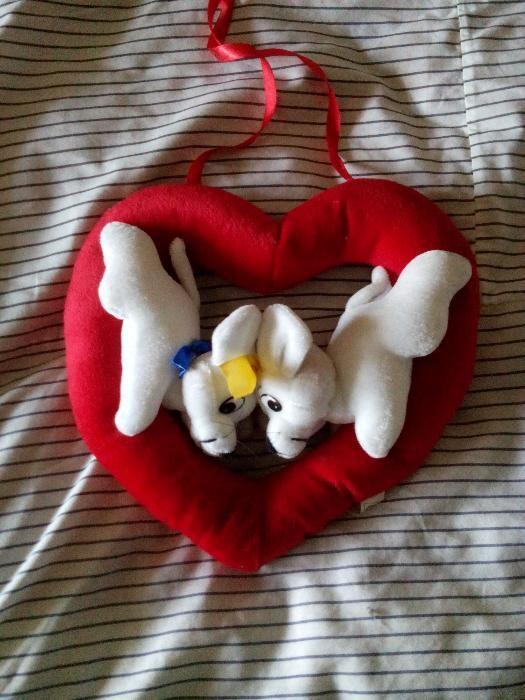 плюшена играчка за влюбени