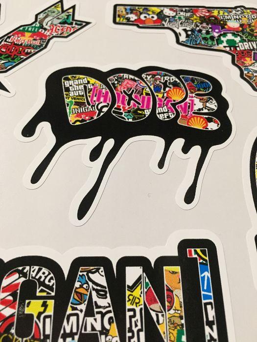 Стикери Sticker Бомб BOMB 13 бр. СУПЕР качествени PVC фолио стике гр. Стара Загора - image 6