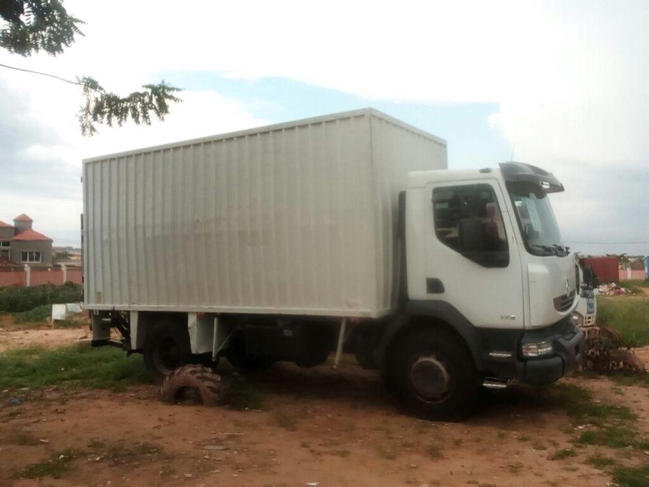 Camião Renalt com contentor de 40 pés à venda