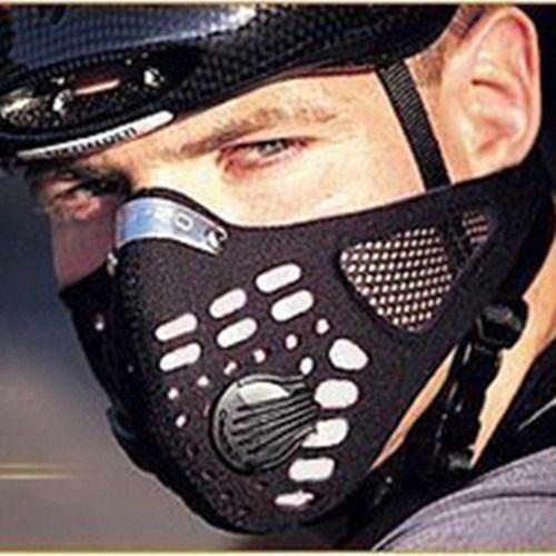Masca Respro anti poluare praf vant filtru hepa bicicleta ski +CADOU!