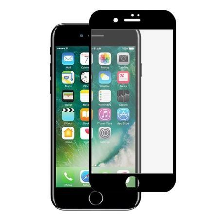 Folie sticla 5D, iPhone 7 PLUS , Neagra