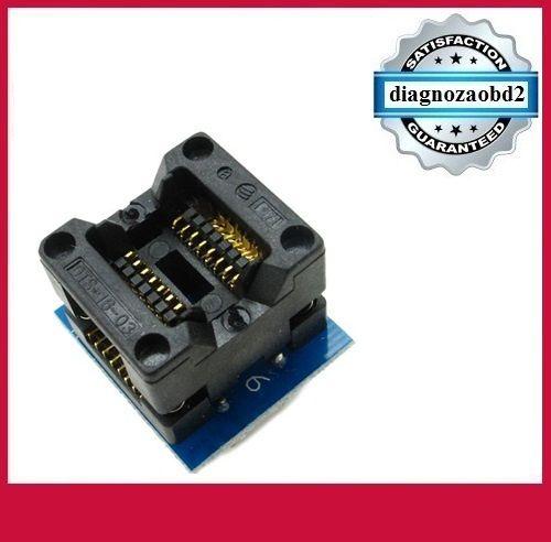 Adaptor pt. Programator memorii SOP16 DIP8 (300mil) - OTS28 1.27-04