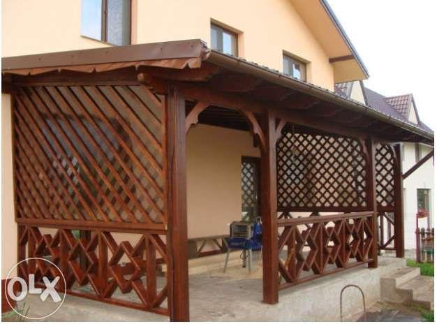 Terase din lemn, Foisoare ,pergole si garduri din lemn