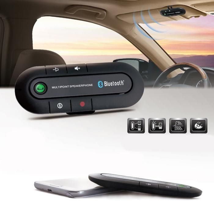 Bluetooth Hands Free Car Kit у-во , хендсфри за кола