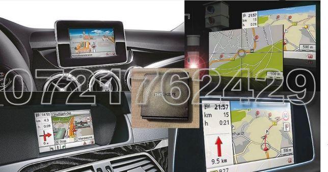 MERCEDES-BENZ A B C GLK E Harta Navigatie BECKER Map Pilot V17 Romania