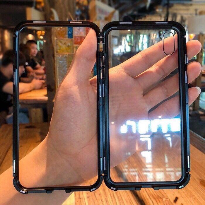 Promoção das capas magnéticas 360 para iPhone e samsung