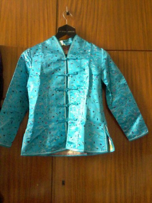 Jacheta Laukuan Silk Collection marime S, pret 40 ron