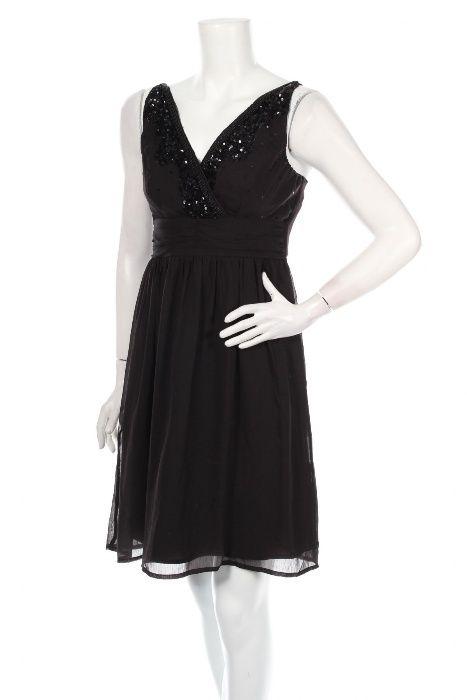 Официални дамски рокли в различни цветове -черна, синя, екрю, лилава,