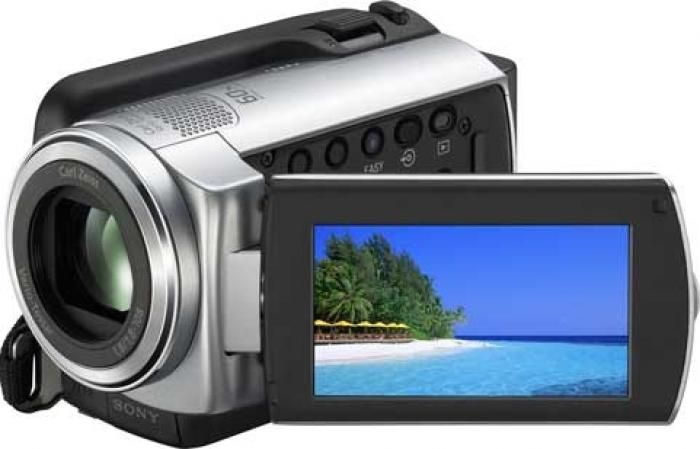 Camera video Sony-touchscreen-hard disk 60GB-impecabila+Panasonic