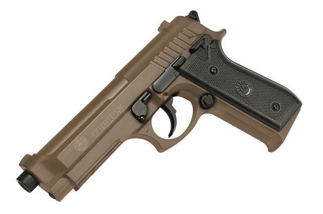 Pistol Airsoft 6mm Replica Taurus PT92 Metal Slide TAN