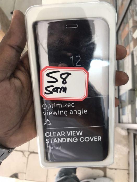 Capas originais Filp Cover para Samsung S8 S8+ s9