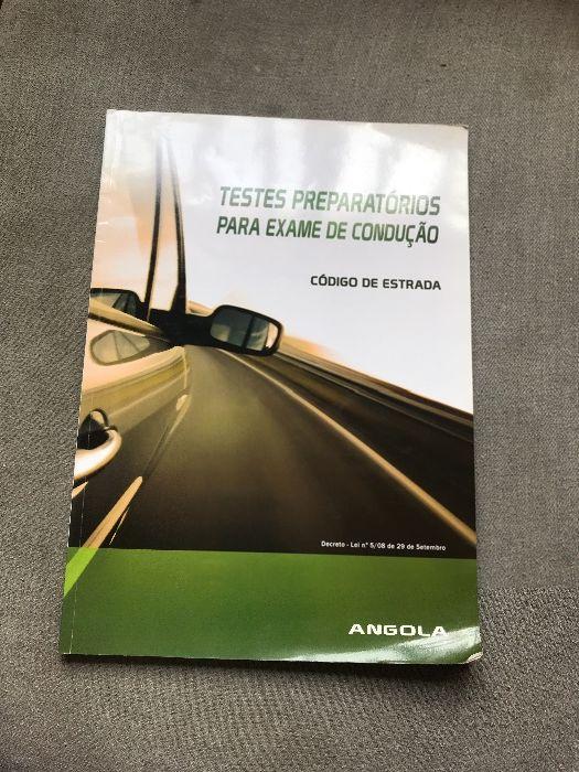 Livro de exame de condução