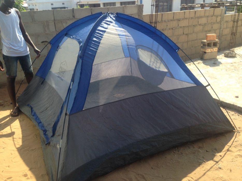 Tenta de acampamento
