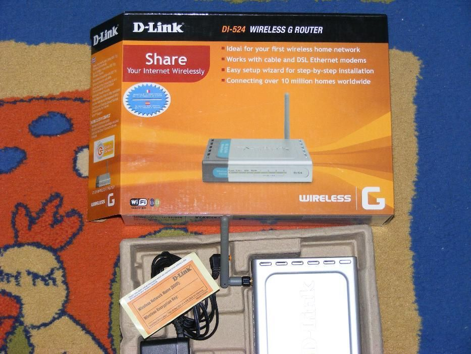 Router Wireless D-Link DI-524