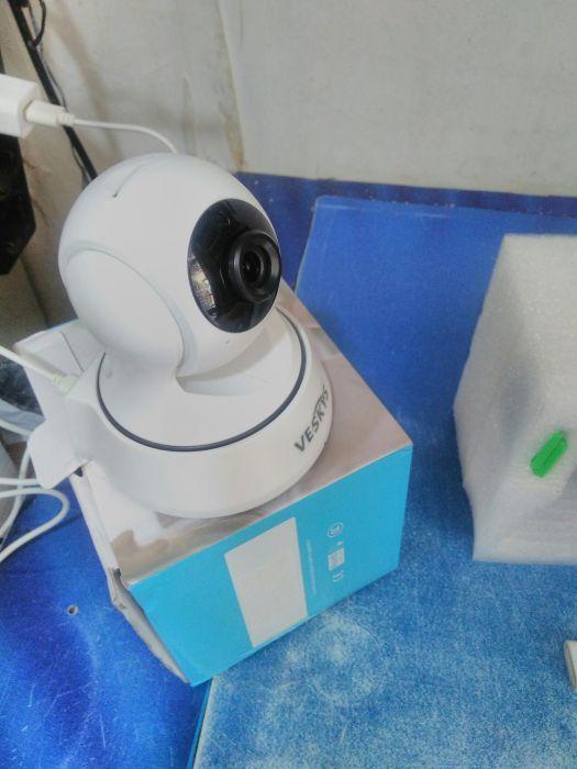 Wi fi камера с въртящ се обектив-дистанционно надлюдение(телефон,табле