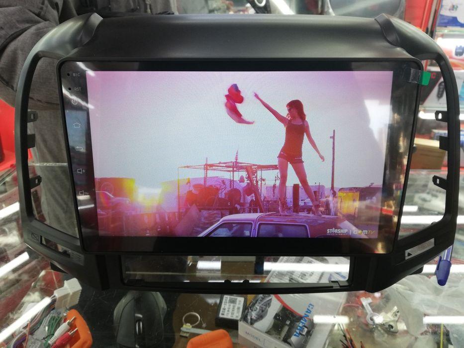Магнитола Хюндай Санта Фе (Hyundai Santa Fe) DSK Red Power ШГУ