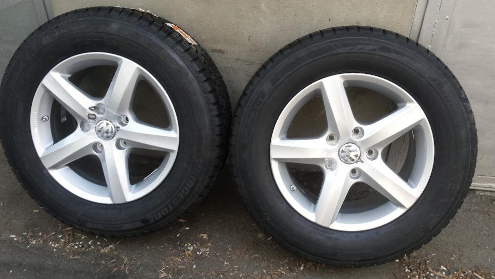 2 roti ALU, NOI, 235/65/17, Bridgestone m s