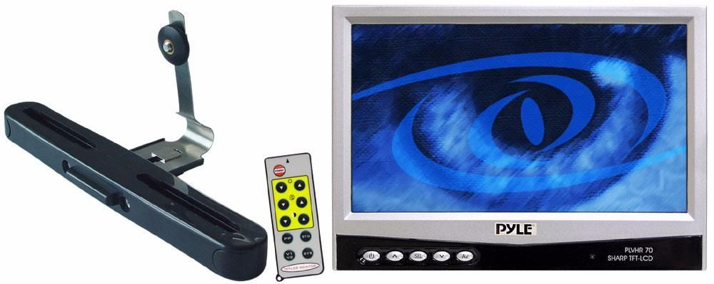 PYLE PLVHR-70 7-Inch Widescreen Tft/LCD Monitor