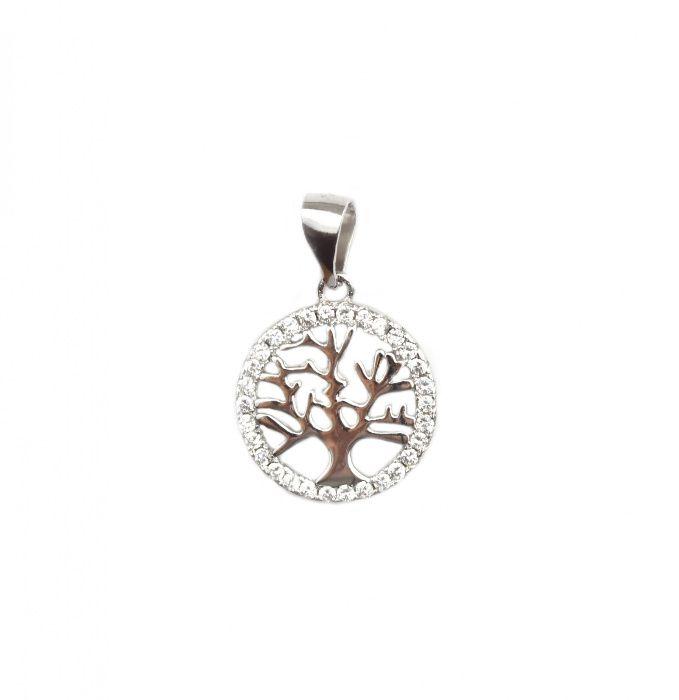Pandant argint rodiat arborele vietii - DA104