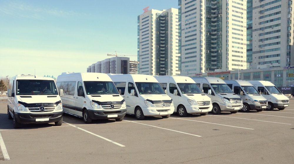 Пассажирские перевозки,заказ,аренда микроавтобусов в Астане