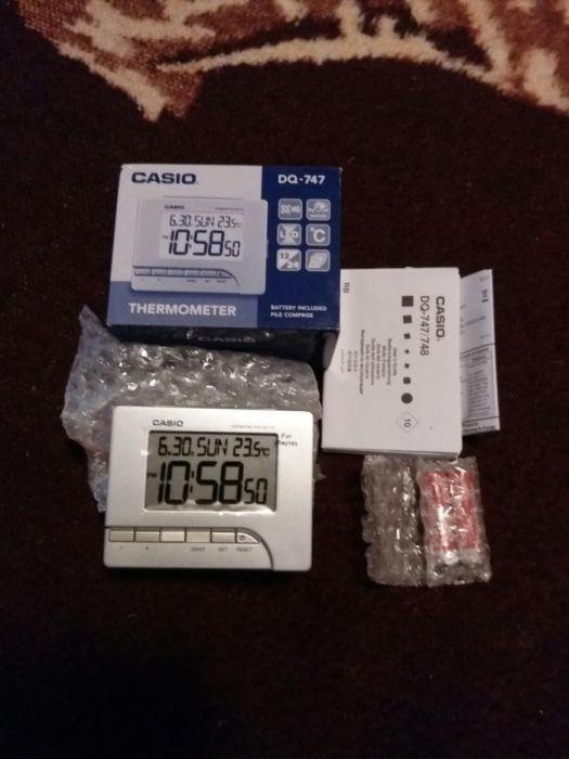 ceas alarma casio, DQ~747~8~EF
