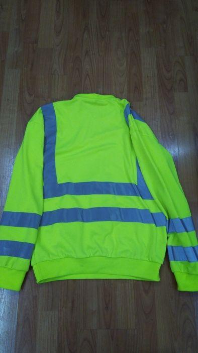 Bluza galbena protectia munci