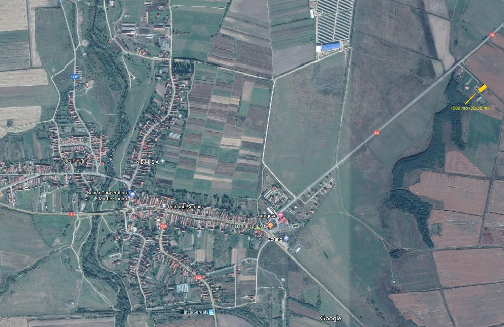 Vanzare  terenuri constructii Brasov, Sercaia  - 7500 EURO
