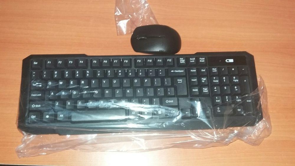 Kit de teclado e Mouse wireless sem fio Maputo - imagem 2