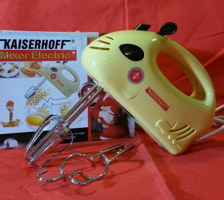 Mixer electric KAISERHOFF/ 200W / 7 vitze / 4 accesorii - NOU - 40 Lei