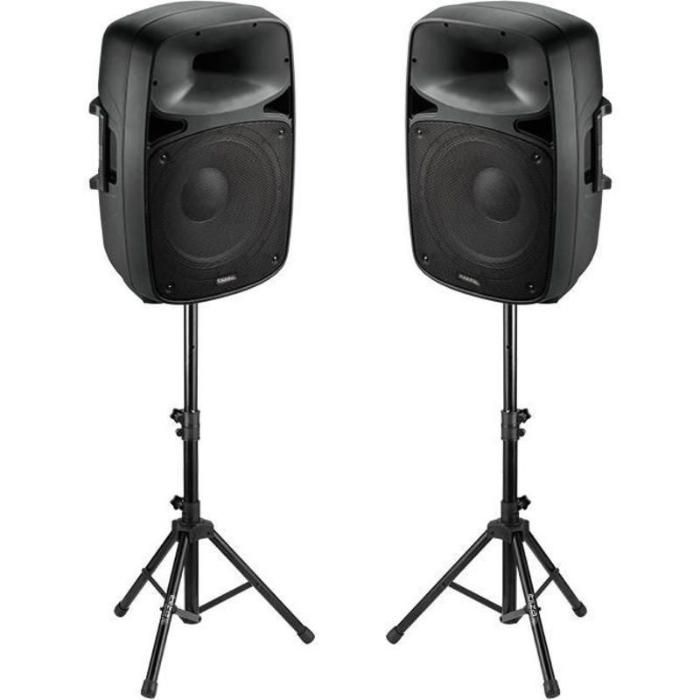 Sistem audio 2x500W cu USB/SD/Bluetooth,Stative ,Microfon