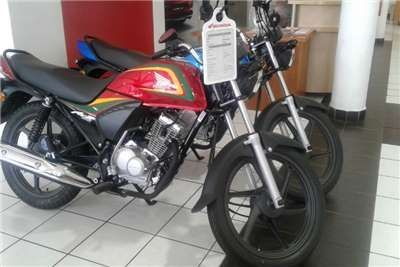 Moto Honda ace