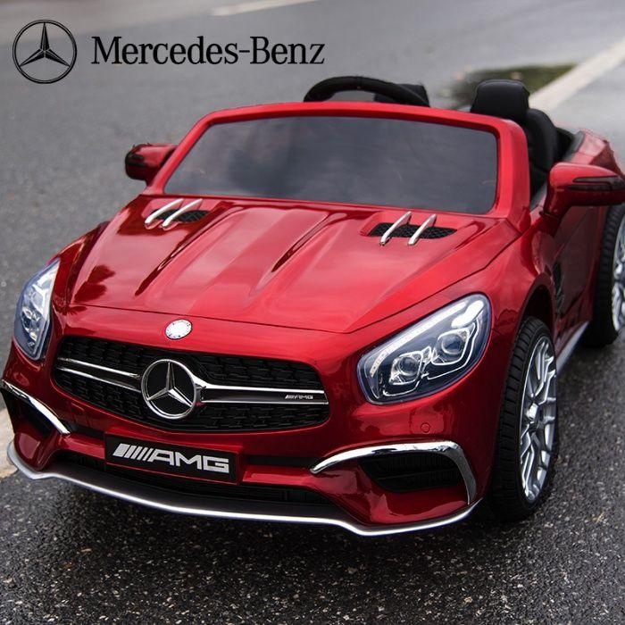 Акумулаторна кола Mercedes SL65 с MP4/дисплей12V с меки гуми гр. София - image 7