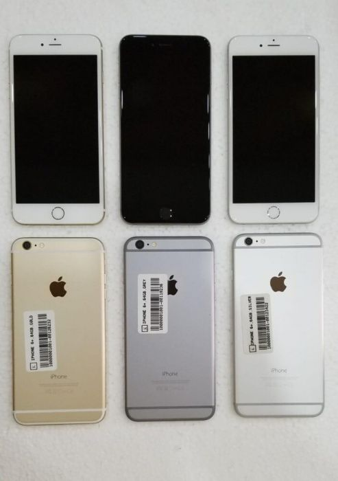 Iphones 6s plus e 6 plus