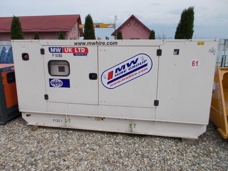 Generator curent FG Wilson 125 kw