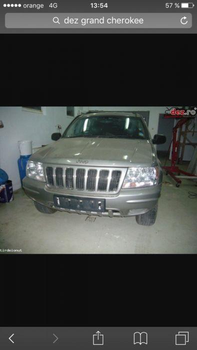 Dezmembrez jeep grand cherokee 3,1 tdi