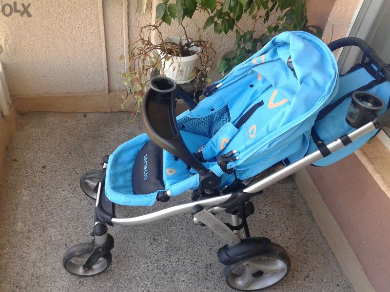 Детска количка комбинирана Чиполино Перфекта модел 2010г.+давам мрежа