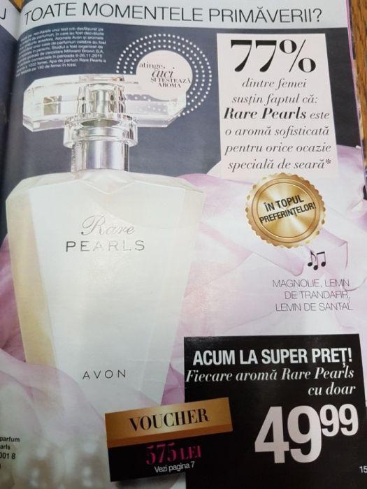 Apa de parfum Rare pearls Iasi - imagine 1