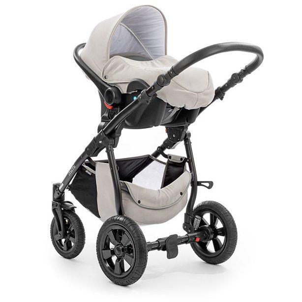 Детская коляска TUTIS Mimi (3 в 1) серая
