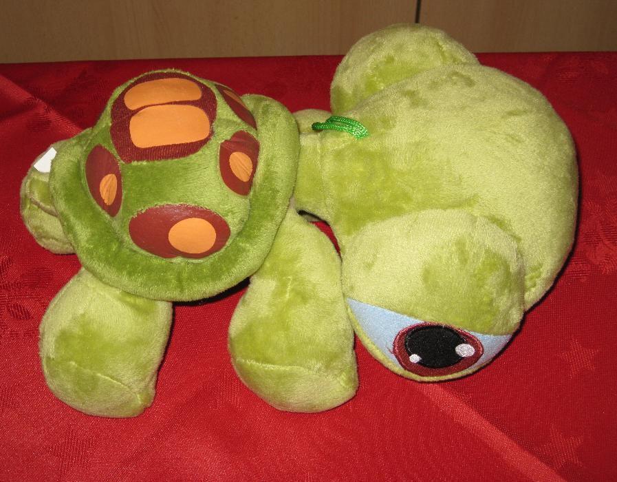 Broscuta testoasa verde cu capul mare