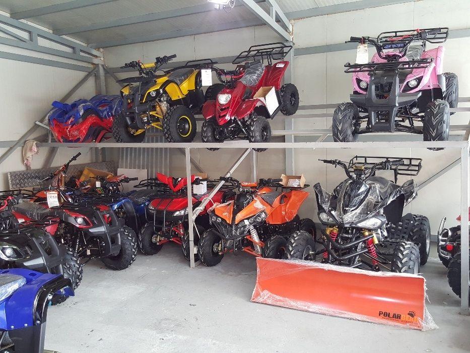 ATV GRIZLLY SPYDER - BMW 125cc, ROBUST ,Cadru SOLID, Nou 2018 ,Calita