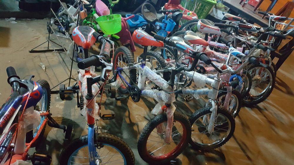 Vendo bicicleta de varios tamanhos para criança,