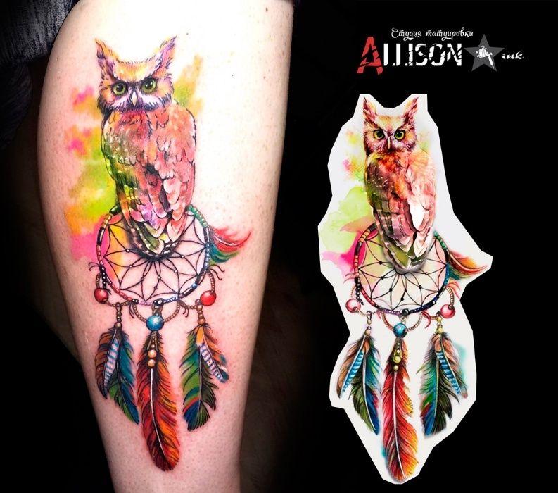 • Студия татуировки AllisoN ink • Профессионально • Качественно •