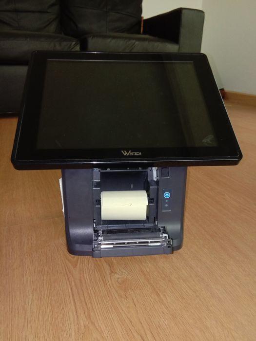 Monitor WINTECH impressora térmica Touchscreen