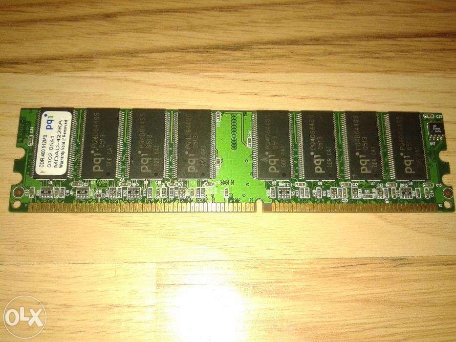 Vand memorie PC PQI de 512MB DDR1/400MHz