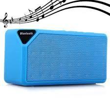 Mini boxa portabila bluetooth cube X3 TF SD USB Radio Fm