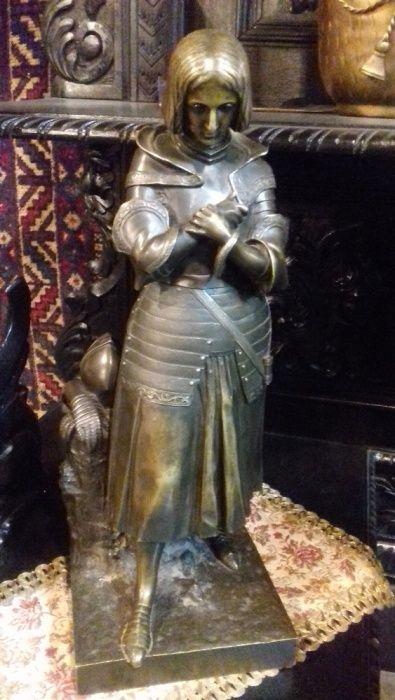 statuie din bronz Ioana D arc